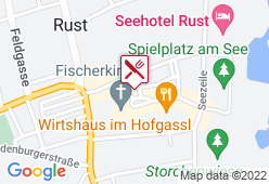 Rathauskeller Rust - Karte