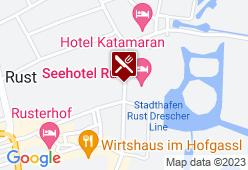 Seeblick - Seehotel Rust - Karte