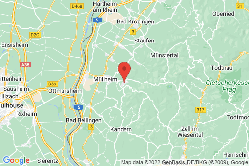 Karte Badenweiler