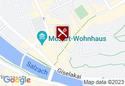 Hotel Schwarzes Rössl - Karte