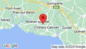 Carte de localisation du centre de contrôle technique MOELAN SUR MER