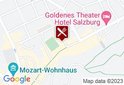 Altstadthotel und Residenz Wolf-Dietrich - Karte