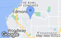 Map of Edmonds, WA