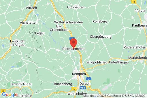 Karte Dietmannsried
