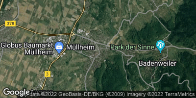 Google Map of Müllheim