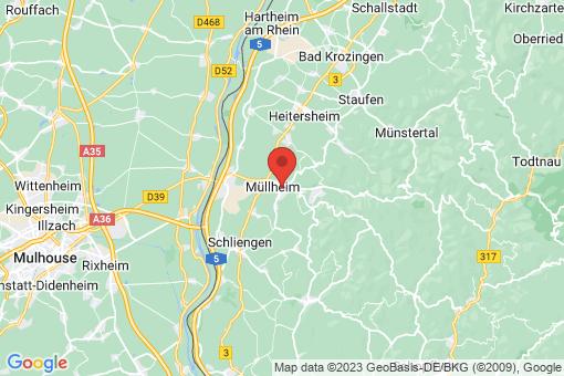 Karte Müllheim