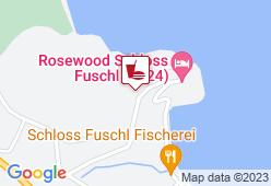Schloss Fischerei Fuschl - Karte