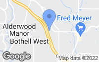 Map of Bothell, WA