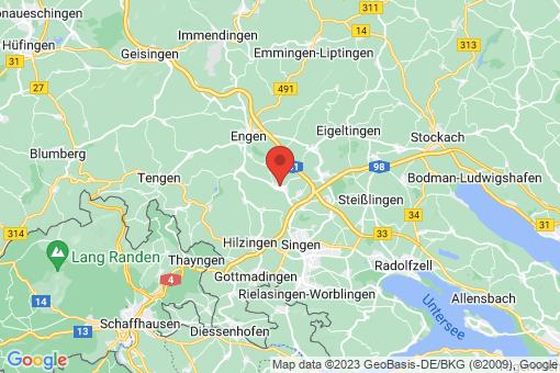 Karte Mühlhausen-Ehingen
