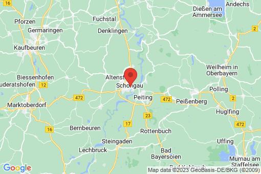 Karte Schongau