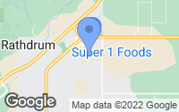 Map of Rathdrum, ID