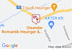 Oleander Romantik-Heuriger - Karte