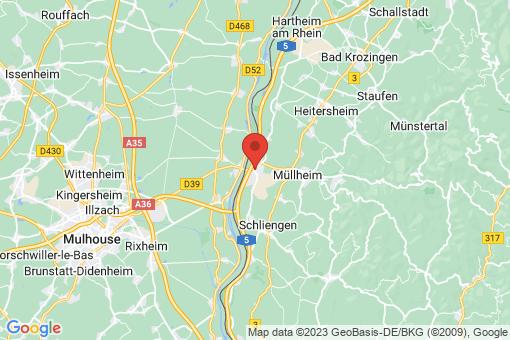 Karte Neuenburg am Rhein