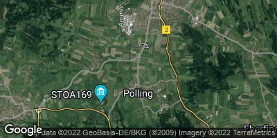 Google Map of Polling