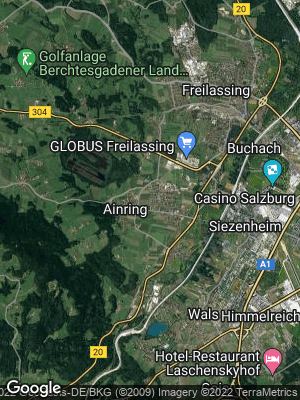 Google Map of Ainring