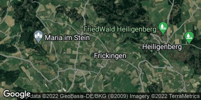 Google Map of Frickingen