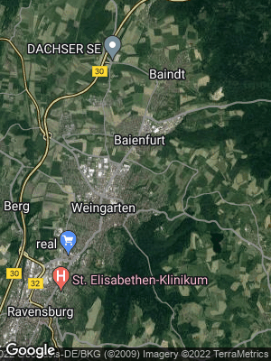Google Map of Baienfurt