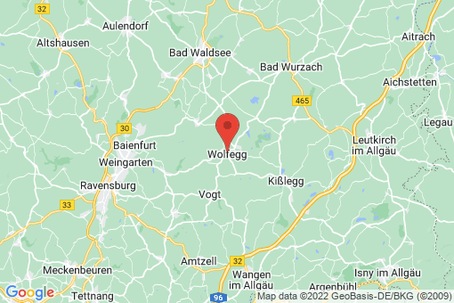 Karte Wolfegg