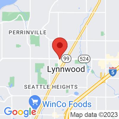 Map showing Lynnwood Caffe Ladro