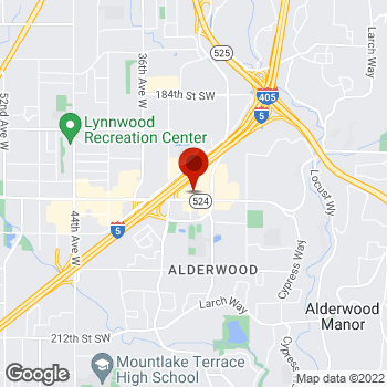 Map of Staples® Print & Marketing Services at 3011 196th Street SW, Lynnwood, WA 98036
