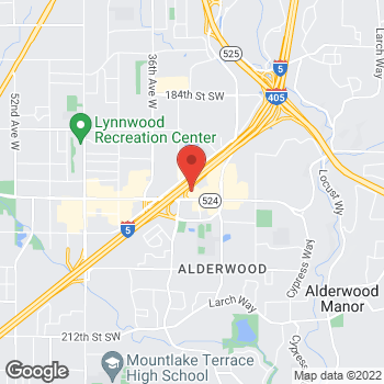 Map of Bed Bath & Beyond at 3115 196th Street Southwest, Lynnwood, WA 98036