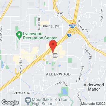 Map of Staples at 3011 196th Street SW, Lynnwood, WA 98036