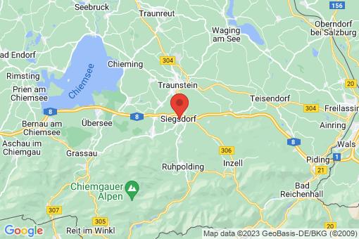 Karte Siegsdorf