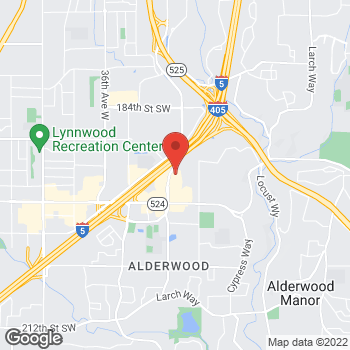 Map of Tuesday Morning at 19225 Alderwood Mall Pkwy, Lynnwood, WA 98036