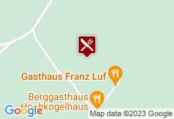 Gasthaus Luf - Karte