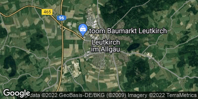 Google Map of Leutkirch