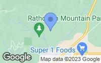 Map of Rathdrum, ID
