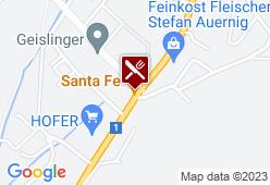 Santa Fe - Karte
