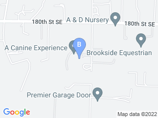 Map of A Canine Experience Dog Boarding options in Snohomish | Boarding