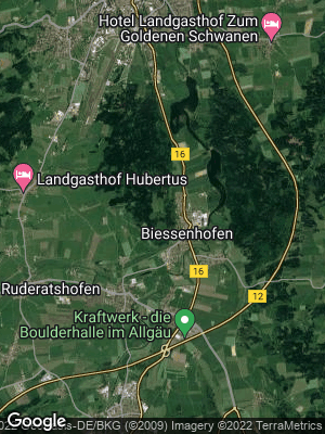 Google Map of Biessenhofen