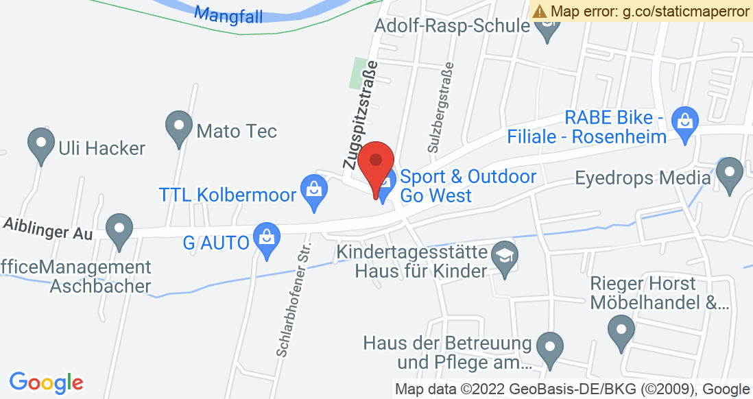 Google Map Sport und Outdoor Go West Robert Zagler