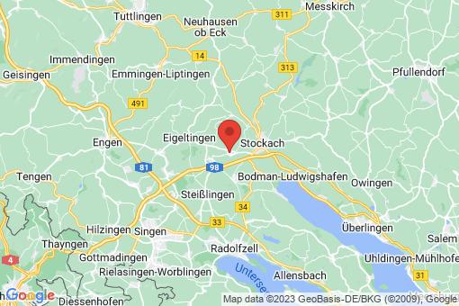 Karte Orsingen-Nenzingen