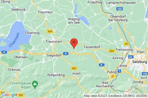 Karte Graben bei Neukirchen am Teisenberg