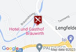 Gasthof Bräuwirth - Karte