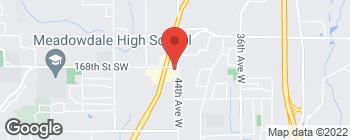 Map of 4400 168th St SW in Lynnwood