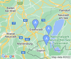 Karte für Schloss Esterházy