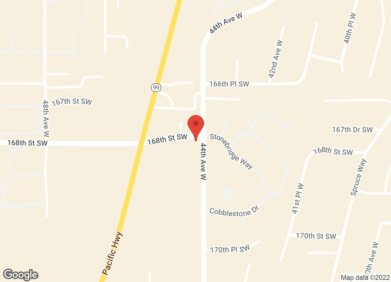 Google Map of VCA Lynnwood Veterinary Center