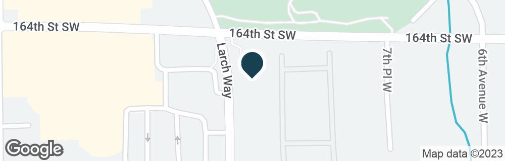 Google Map of16423 LARCH WAY