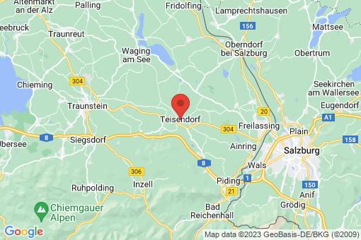 Karte Teisendorf