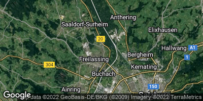 Google Map of Freilassing