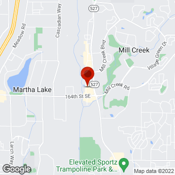 Map of Staples® Print & Marketing Services at 16232 Bothell Everett Highway, Mill Creek, WA 98012