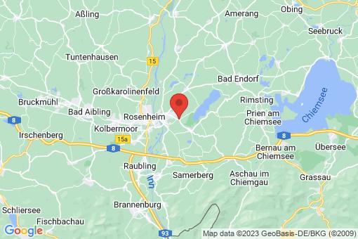 Karte Stephanskirchen