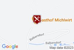 Michlwirt - Gasthof zur schönen Aussicht - Karte