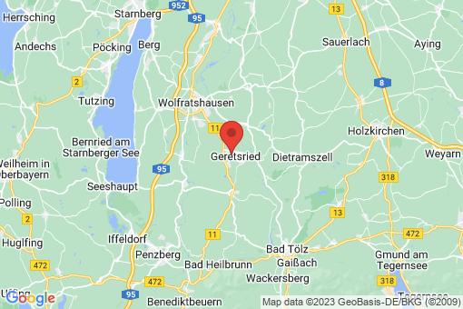 Karte Geretsried