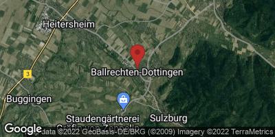 Google Map of Ballrechten-Dottingen