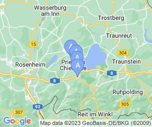 Karte für Möwe am See Garni